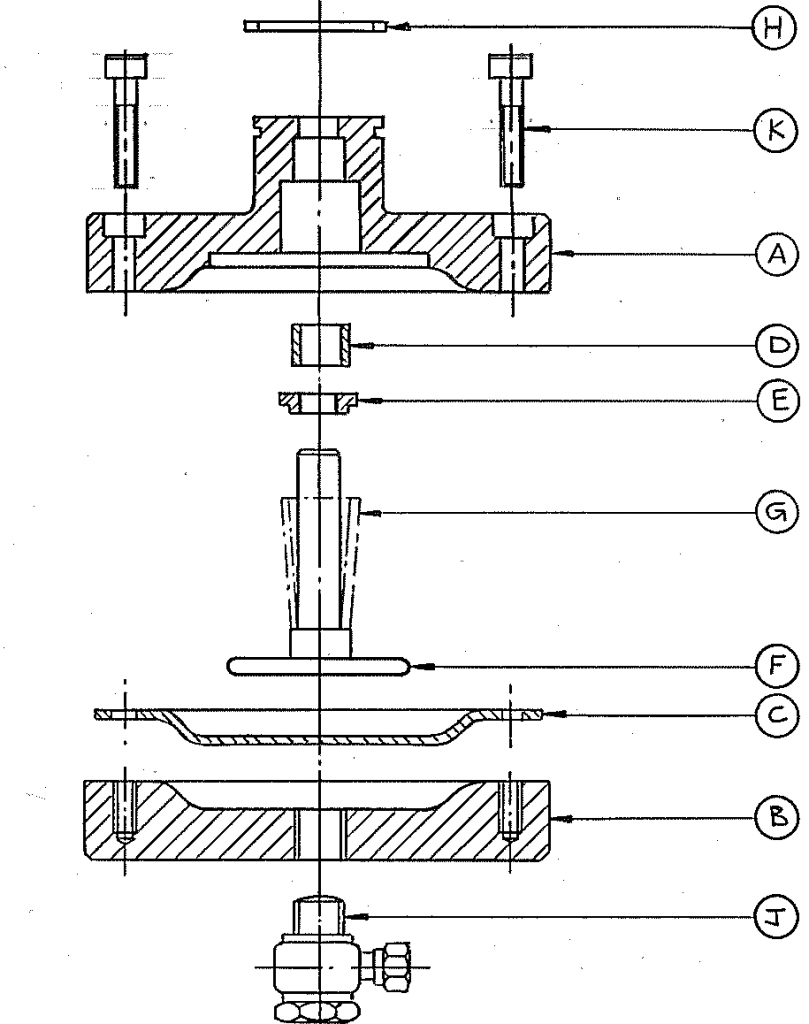 DSE Type ACTUATOR VALVE ASSEMBLY