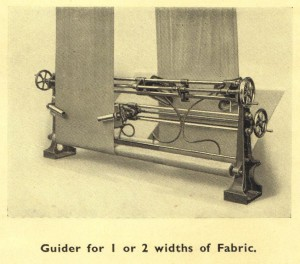 Guider for 1 or 2 Widths of Cloth